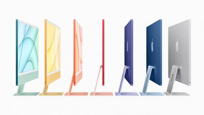 iMac 24 colors